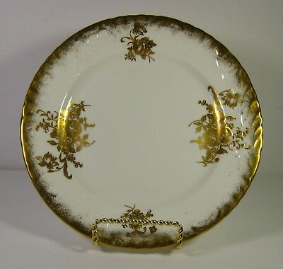 Vintage Hammersley & Co Bone China Side Plate Gold Flowers