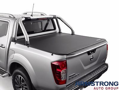 New Genuine Nissan D23 NP300 Navara Soft Tonneau Cover to suit Front Sports Bar