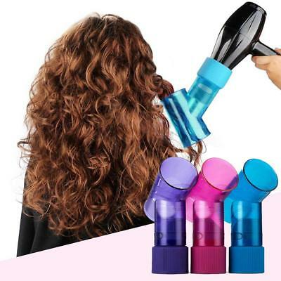 Hair Dryer Curler Roller Diffuser Magic Wind Spin Curly Hair Salon Styling Tools