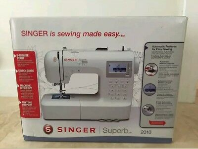NEW IN Box! Singer 2010 Superb Electronic Sewing Machine