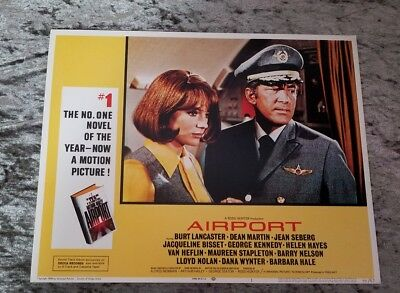 Airport lobby cards - Dean Martin,  Jacqueline Bisset,  George Kennedy