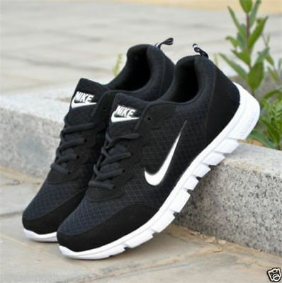 Uk Trainers Lace Mesh Sports Running Casual Fashion Mens Shoes Ladies Pumps New