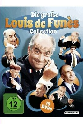 Die große Louis de Funes Collection - Studiocanal 0504024.1 - (DVD Video / Komö