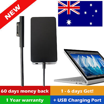 Power Supply for Microsoft Surface Pro 3 Pro 4 / AC Charger Cord Adapter 12V