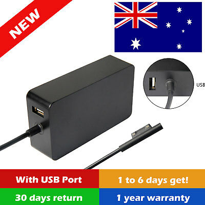 Power Adapter Charger 1706 1625 for Microsoft Windows Surface Pro 3 Pro 4 24W