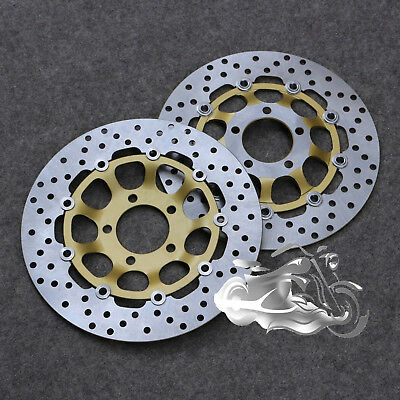 Front Brake Disc Rotor For Suzuki GSX600F GSX750F Katana GSX400 F SS Impulse New