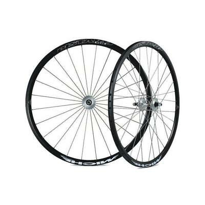 Pair wheel fixed track pistard wr clincher black MICHE Bicycle