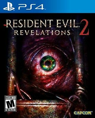 Resident Evil Revelations 2 (PlayStation 4) BRAND NEW & FACTORY SEALED ps4