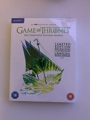 Game of Thrones Limited Edition Blu-ray Complete Season 2 BRAND NEW SEALED