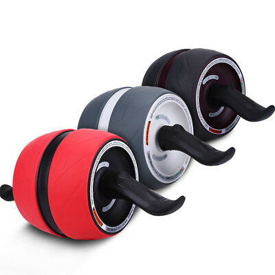 Fitness Ab Carver Pro Exercise Wheel Roller  Workout Gym Automatic Springback