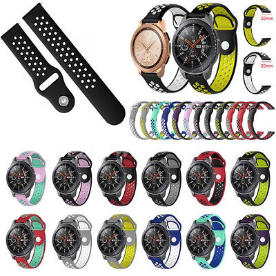Silicone Wrist Strap Band Bracelet Replacement For Samsung Galaxy Watch 42&46mm