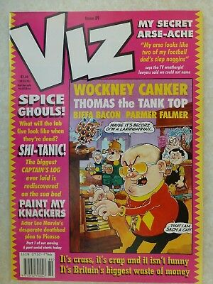 Viz Magazine Issue 89 UK Comic - 1998 Apr/May Adults Only And Hilarious Fun