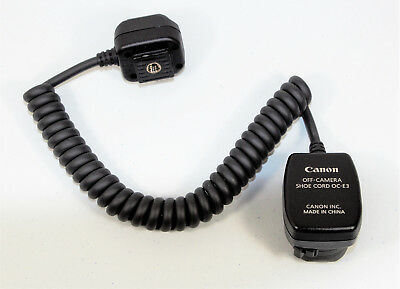 Canon Off-Camera Shoe Cord OC-E3 - #1103h
