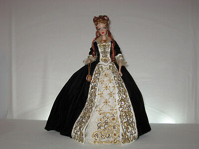 Faberge Imperial Grace Barbie Porcelain Doll Limited Edition 2001 52738