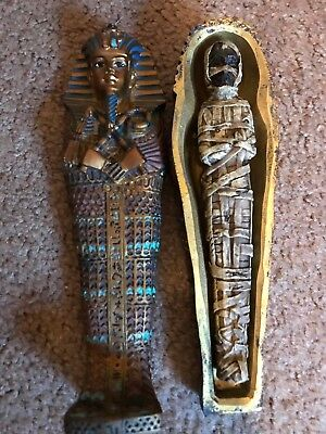 King Tut's Tomb & Mummy Collectible Decorative  7""