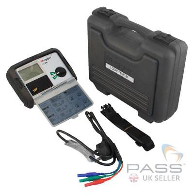 *NEW* Megger LT300 Earth Loop Tester With Fused Leads & Clips / UK