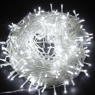 50M/164FT Copper Wire 250 LED String Light Xmas Party Fairy Lighting Waterproof