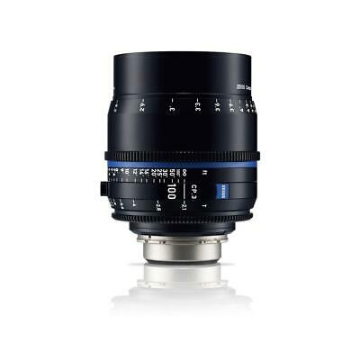 Zeiss 100mm T2.1 CP.3 XD Compact Prime Cine Lens (Feet) CF PL Bayonet Mount
