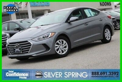 2017 Hyundai Elantra SE 2017 SE Used 2L I4 16V Manual FWD Sedan Premium