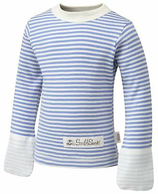 ScratchSleeves | PJ tops with integrated mitts | Imperfects | Stripes | 6m to 4y