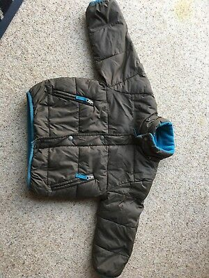 Boys Mini Boden Puffa Jacket/ Coat Age 3-4 Years