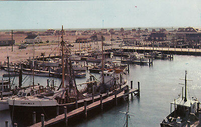 POINT JUDITH , Rhode Island , 50-60s ; Galilee Harbor , fishing fleet