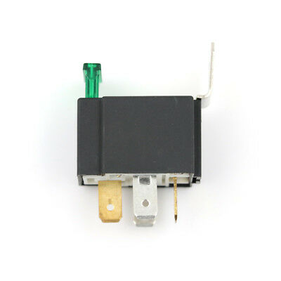12V 4 Pin 30A Fused Relay With Bracket 12 Volt Normally Open On/Off HC