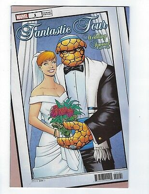 Fantastic Four Wedding Special # 1 Mckone Variant Cover