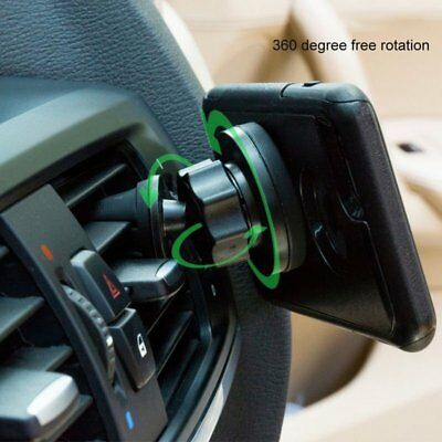 Magnetic Car Vehicle Holder Mobile Phone GPS Stand 360° Air Vent Mount FA
