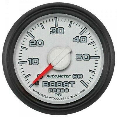 Auto Meter Factory Matched Boost Gauge 8505 For 0-60 Psi 03-09 Dodge