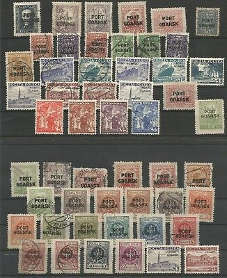 Poland, Port Gdansk, Lot Mh/used