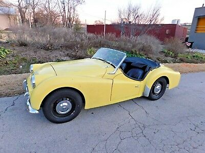 1961 Triumph TR3  1961 Triumph TR3, Runs & Drives Very Nicely, Original & Complete w/ Weather Gear