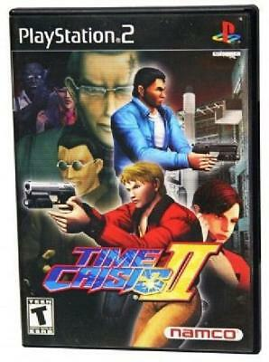 Time Crisis II PL Complete Playstation 2 PS2 Game