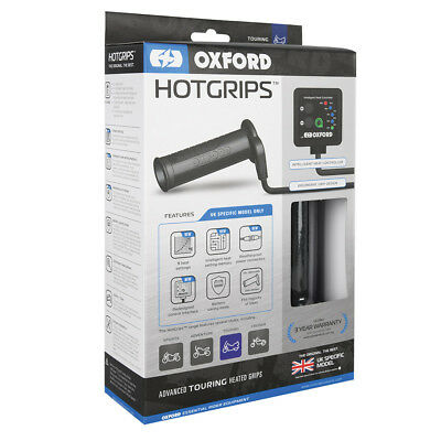 Oxford Hot/Heated Grips Advanced Touring Uk Specific El691Uk Spring Sale