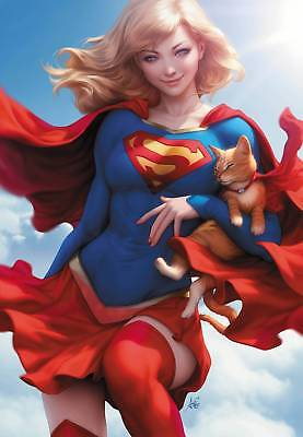 Supergirl # 26 Artgerm Variant Cover NM DC Pre Sale Ships Jan 16th