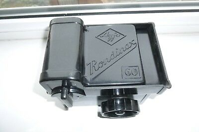 Agfa Rondinax 60 processing tank. for 120 film with top of original box