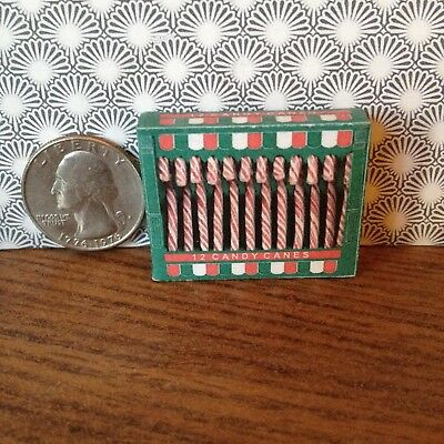 "1:6 scale Handmade miniature for 11""-12"" size dolls -  Candy canes"