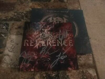 SIGNED Parkway Drive Autographed Reverence CD w/  signed Art Card