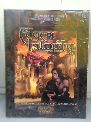 Sword & Sorcery Scarred Lands - Edge of Infinity The Seared Planes - Sealed