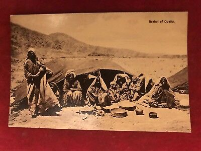 "Old Postcard Of "" Brahui Of Quetta ""  ,india"