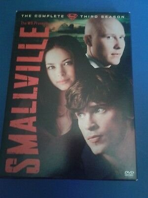 Smallville - Season 3 (DVD, 2004, 6-Disc Set) - The Complete Third Season