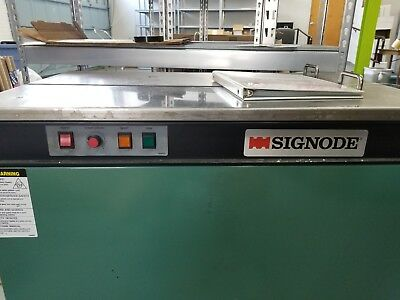 Signode Table Top Strapping Machine Model MS-T