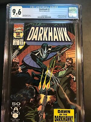 Darkhawk #1 CGC 9.6  1991  Origin and First Appearance! Marvel Comic: New Frame