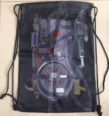 Loot Crate Ghostbusters Proton Pack drawstring backpack June 2018 Exclusive