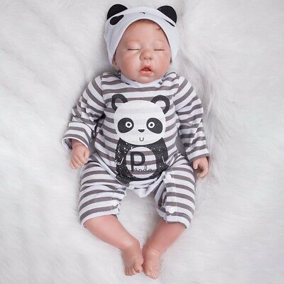 50cm Reborn Baby Doll Hand-painted Style Boy Doll Handmade Kids Children Gift