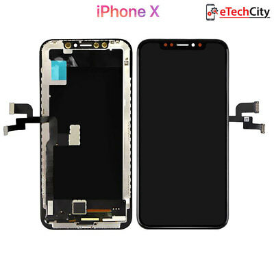 For Apple iPhone X A1901 Lcd Display Screen Touch Digitizer Glass Assembly Frame