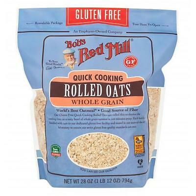 Bob's Red Mill Quick Rolled Oats 28 Oz. Resealable Bag 234176