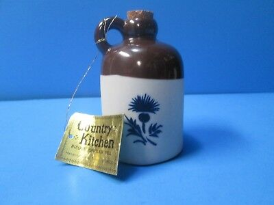 Country Kitchen Bisque Porcelain Bell