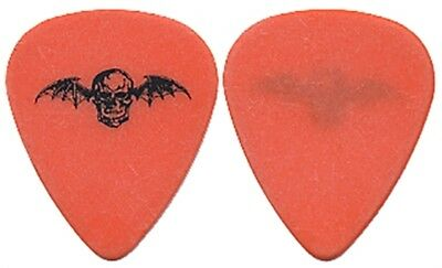 Avenged Sevenfold Johnny Christ authentic 2006 Ozzfest tour stage Guitar Pick