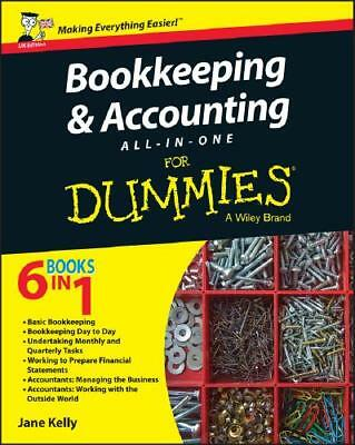 Bookkeeping & Accounting All-in-One for Dummies by Colin Barrow (author), Pau...